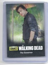 2016 CRYPTOZOIC THE GOVERNOR CHARACTER BIOS CO9 THE WALKING DEAD SEASON 4 1