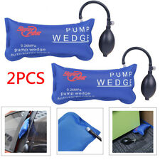 2pcs PDR Air Pump Wedge Blue Car Auto Hand Tools Inflatable Shim For Door Window