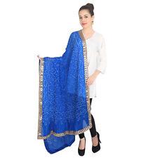 Dupatta   Latest Dupatta Wedding Royal Blue Long Scarf Shawl