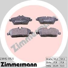 BMW SERIE 1 MINI Zimmermann Pastiglie Freno Anteriore 34116771837.34116772892