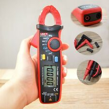 Uni-t Ut210e Mini True RMS AC DC Current Clamp Meters W/ Capacitance Tester