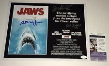 Richard Dreyfuss Jaws Cast X3 Signed 11X14 Photo Autograph Jsa Coa