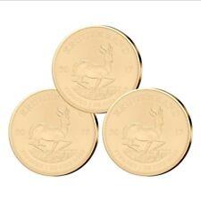 Krügerrand Gold 1 oz Investmentpaket: 3 Stück Südafrika 2018 Goldmünze 1 Unze
