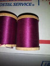 Gudebrod Nylon Rod Thread Size Ee Maroon/Purple 3-100E /7-50Ee Yard 10 Spool Lot