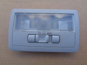 2010 TOYOTA SCION TC INTERIOR DOME LIGHT LAMP W/O SUNROOF SWITCH - GRAY OEM