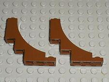 2 x LEGO OldBrown ARCH ref 30099 / set  6557 6442