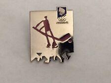 1994 Lillehammer Winter Olympics Hockey Pin Free Shipping