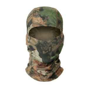 Tactical Camouflage Hunting Balaclava Face Mask Army Military Airsoft Sniper Hat