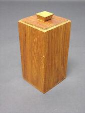 BOITE BOIS ART DÉCO RANGEMENT VIDE POCHE ETC. 7,5 x 15,5 cm
