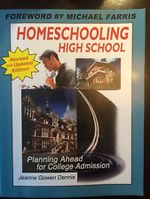 book, nonfiction, homeschooling high school, planning for college, paperback