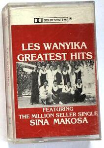 Les Wanyika Cassette Greatest Hits - Rare Kenya Afrobeat