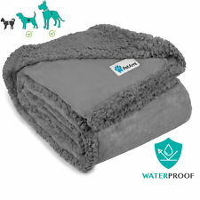 Waterproof Dog Blanket Pet Throw for Couch Protect Furniture Large Xl Dog Puppy