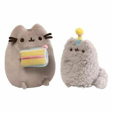 Officially Licensed Gund Pusheen and Stormy Birthday Plush Collector Set