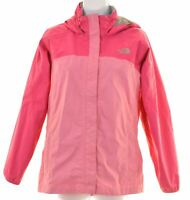 THE NORTH FACE Girls Windbreaker Jacket 14-15 Years XL Pink Nylon  FK05