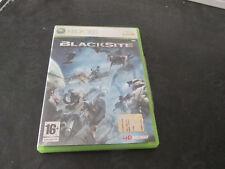 BLACKSITE  - GIOCO XBOX 360 PAL Solo Custodia e libretto NO dvd