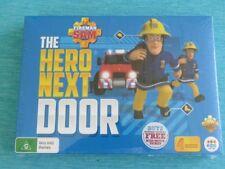 FIREMAN SAM DVD THE HERO NEXT DOOR NEW SEALED ABC PONTYPANDY ESCAPE NORMAN STORM