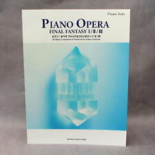 Final Fantasy Piano Opera Music I II III - GAME MUSIC SCORE BOOK