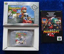 Mario Kart 64 Players Choice, Nintendo 64 Spiel, OVP Anleitung