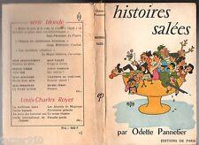 ODETTE PANNETIER ¤ HISTOIRES SALEES ¤ ILL. DUBOUT ¤ EO 1956 ED. PARIS