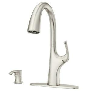 stainless steel pfister kitchen faucets