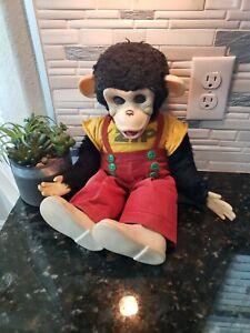 Vintage Zip the Monkey Zippy Rushton Company (Howdy Doody Show) Rubber Face Doll