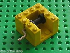 Treuil jaune LEGO vintage yellow winch x378c02 /set 128 349 680 643 ...