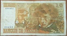 Billet 10 francs Hector BERLIOZ 15 - 5 - 1975 FRANCE C.181