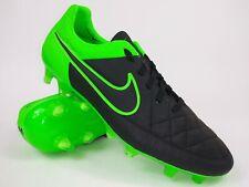 Nike Mens Rare Tiempo Legend V FG 631518 003 Black Green Soccer Cleats Size 8
