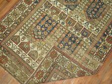 Antique Caucasian Shirvan Kazak Worn Rug Size 3'7''x5'2''
