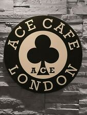 Enseigne ACE CAFE LONDON ( 45 cm de diamètre) Triumph Norton