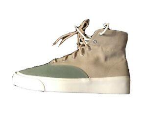 Converse Skid Grip Hi Safari Biscotti Oil Green Sneakers 169640C Men Sz 10.5 NEW