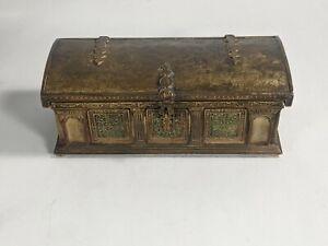 Tiffany Bronze Jewelry Casket 1666
