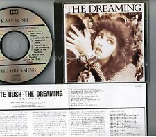 KATE BUSH The Dreaming JAPAN CD CP32-5277 w/INSERT+PS BOOKLET Free S&H/P&P