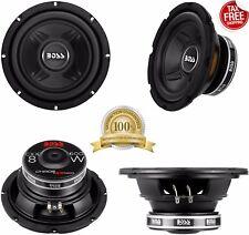 Boss 8 Inch 600 Watt 4 Ohm Car Audio Power Single Voice Coil Subwoofer CXX8
