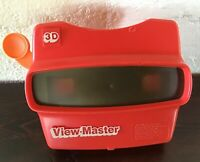 Vintage Red View-master 3D Viewer Tyco Toys Viewmaster