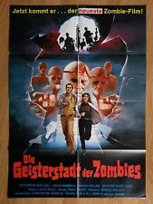 THE BEYOND - L'ALDILA - scarce German 1-sheet Zombi Horror 1981 LUCIO FULCI