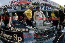 Andretti JPS Lotus 79 ganador francés Grand Prix 1978 fotografía 3