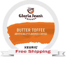 Keurig Gloria Jeans Butter Toffee Coffee K-cups 48 Count
