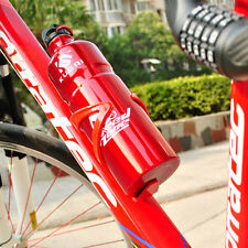 Red PC Plastic MTB Rode Bike Bicycle Cycling Water Bottle Stent Holder Rack Cage