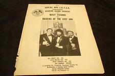 RAIDERS OF THE LOST ARK 1981 Oscar Winner's ad Best Sound, Steven Spielberg
