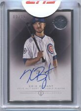 Kris Bryant 2016 TOPPS Transcendent 65th Anniversary Party Auto 3/15 Signed Rare