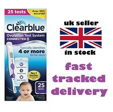Clearblue Connected Ovulation 25 Test iPhone android compatible new uk long date