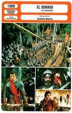 FICHE CINEMA : EL DORADO - Wilson,Sastre,Atkine,Saura 1988