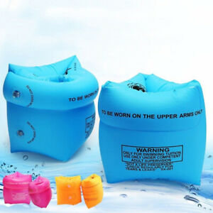 Kids & adult inflatable arm bands ring floaties swimming pool safety trainerFCA