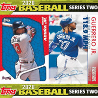 2020 TOPPS SERIES 2 BASEBALL JUMBO FACTORY SEALED BOX IN STOCK FREE SHIPPING