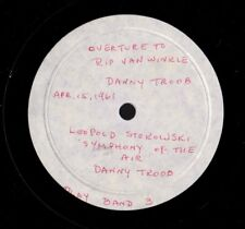 STOKOWSKI's Rarest Record? Sym of Air TROOB, Danny. Rip Overture.  Pvt Pressing