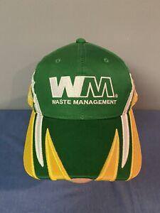 "Bill Davis Racing Waste Management Nascar ""SAMPLE"" Hat Cap #22 Bill Lester RARE!"