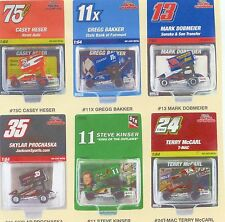 Racing Champions Sprint Car set of 6 -- 1/64th scale