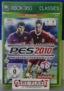 PES 10 Pro Evolution Soccer 2010 Classics Xbox 360 NEU Fußball Sport Konami