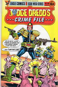 Judge Dredd's Crime File 4 November 1985 Eagle Comics USA $1.50